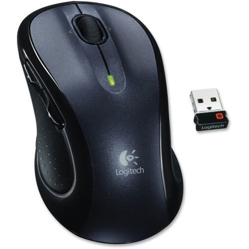 Logitech M510 Wireless Optical Mouse - Laser - Wireless - Radio Frequency...