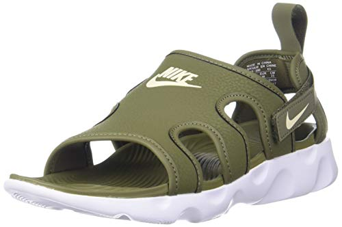Nike Owaysis Olive Green/ White Outdoor Sandals - 8 UK (42.5 EU) (9 US)(CT5545-200)