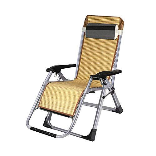 MWPO Zero Gravity Chairs Folding Zero Gravity Chairs with Pillow, Heavy Duty Beach Reclining Sun Lounger, for Outdoor Patio Garden Courtyard, Load 150kg