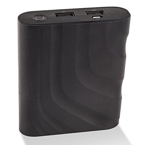 Ansmann Powerbank 9.4 batería Externa Negro Ión de Litio 8800 mAh - Baterías externas (Negro, Universal, Ión de Litio, 8800 mAh, USB, 32,5 WH)
