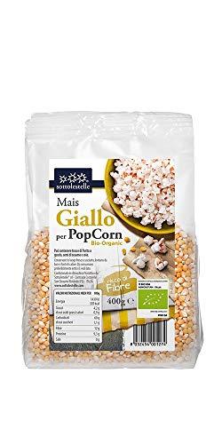 Sottolestelle Mais Giallo per Pop Corn, 400 g, Pacco da 6