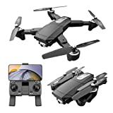 S604 Pro GPS Drone con Cámara Dual para Adultos 6K Ultra HD 5Ghz FPV Quadcopter con Vídeo en Vivo Retención de Altitud Funciones de Waypoints Sígueme VR Pantalla Dividida 46-70