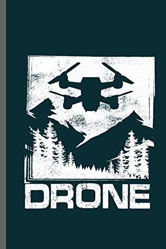 DRONE: Drones Ground Base Controller UAV Aircraft Quadcopter Aerial Vehicle Pilot Control Gadget Camera Video notebooks gift (6