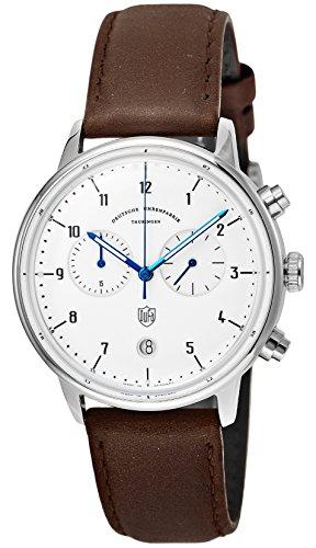 [ドゥッファ] 腕時計 HannesChrono ホワイト文字盤 DF-9003-02 正規輸入品 ブラウン