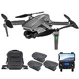 Entrega en 3~7 Días, ZLL SG907 MAX GPS Drone con Cámara 4K HD, Cardán Mecánico de 3 Ejes, Distancia de Control de 800m, 5.8Ghz WiFi FPV Dron Adultos, 26Minutos Profesional Quadcopter (3 Pilas)
