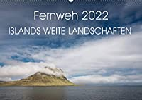 Fernweh 2022 - Islands weite Landschaften (Wandkalender 2022 DIN A2 quer): Faszinierende Landschaften Islands vereint in diesem Kalender (Monatskalender, 14 Seiten )