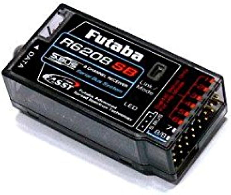 RCECHO& 174; Futaba RC Model R6208SB FASST 2.4GHz 8ch R C S.Bus Aircraft Receiver RE825 174; Vollversion Apps Ausgabe