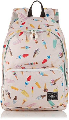 O'Neill Rucksack AC Coastline Graphic Backpack, White AOP, 15 x 31 x 42 cm, 20 Liter