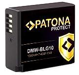 PATONA Protect V1 - Batería de repuesto para Panasonic DMW-BLG10 E (1000 mAh)...