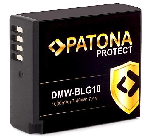 PATONA Protect V1 - Ersatz für Akku Panasonic DMW-BLG10 E (1000mAh) mit NTC-Sensor und V1 Gehäuse