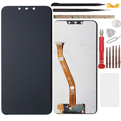 YHX-OU 6.3' para Huawei P Smart Plus 2018 P Smart + Nova 3i de reparación y sustitución LCD pantalla táctil digitalizador con herramientas incluidas (negro)