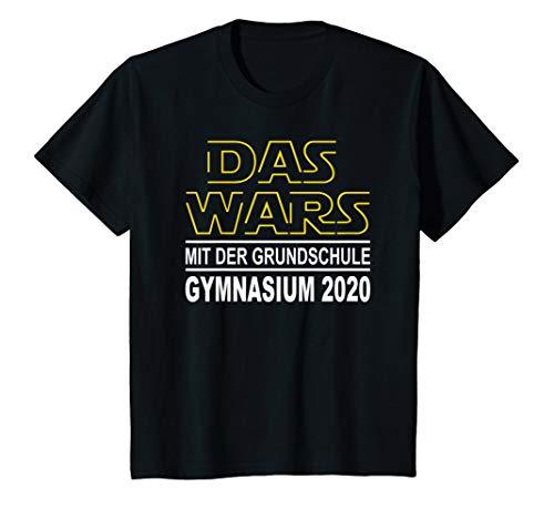 Kinder Das Wars Grundschule Abschluss Grundschulabschluss Gymnasium T-Shirt