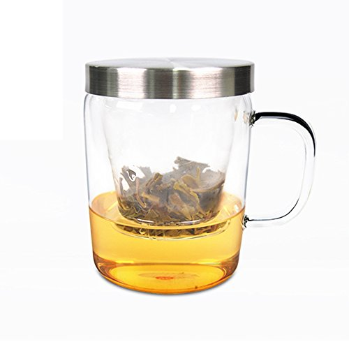 (31% OFF Coupon) Tea Cup With Loose Leaf Tea Brewing System $16.55