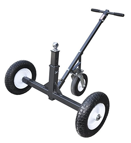 Tow Tuff HD Dolly Adjustable Trailer Moves with Caster