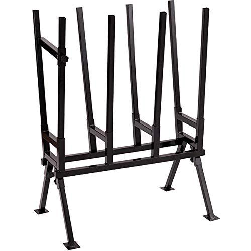 GOPLUS Sägebock Sägegestell Holzbock Holzschneidebock Holzsägebock Kettensägebock Sägehilfe Sägeständer, aus Eisen, schwarz, 76x50x103cm