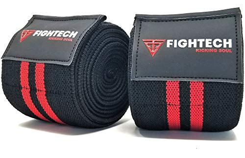 """FIGHTECH Knee Wraps for Weightlifting 