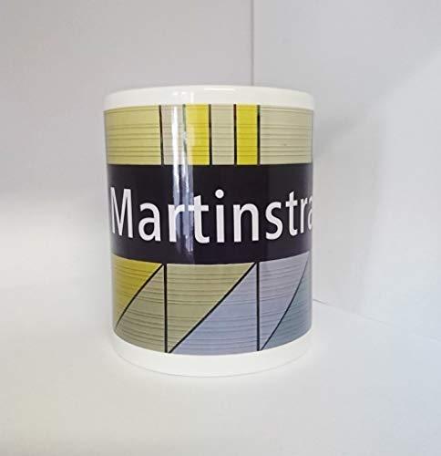 Kaffeetasse - Becher - Pott - U-Bahnhof Martinstraße - Martinstrasse - Ubahnstation Essen - Rüttenscheid - tom bäcker - Martin, Name, Geschenkidee Namenstag
