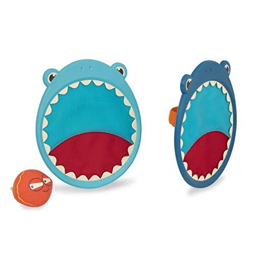 B. toys by Battat – Critter Catchers Finley The Shark – Ball & Catch Game Set For Kids 3+ (3-Pcs)