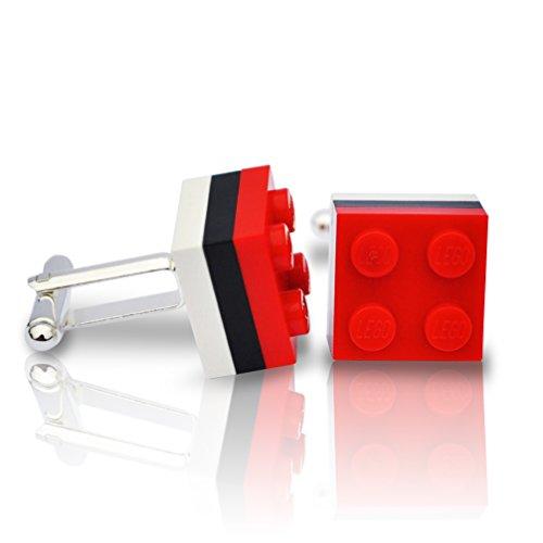 LEGO® Saracens Rugby Manschettenknöpfe Hochzeit, Groom, Herren Geschenk