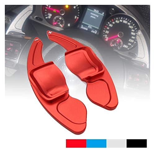 Paletas De Cambio De Volante Paddle del volante de automóviles Extienda DSG DSG Direct Shift Paddle Funda para VW Tiguan para Golf 5 6 MK5 MK6 para Jetta GTI R20 R36 Volante Del AutomóVil Shifter Pale