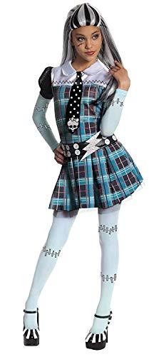 Deguisement Frankie Stein Monster High enfant robe Fantaisie Taille L