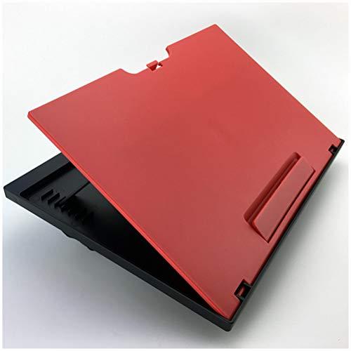 GFPR 7 Dateien Winkel Einstellbar Lapdesk, Falten Wordpad Laptop Unterlage Mit Notebookschienen, um EIN Verrutschen der Gegenstände zu verhindern