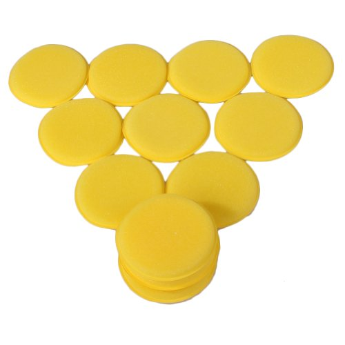 WLM Nice Waxing Polish Wax Foam Sponge Applicator Pads For Clean Car Vehicle Glass on Sale( Pack of 12)