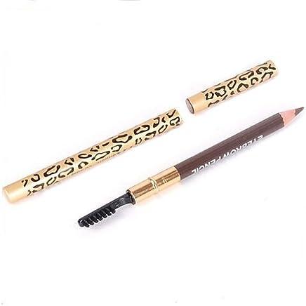Crayon a sourcils - TOOGOO(R)Parfait etanche longue duree Crayon a sourcils & Brosse de Maquillage