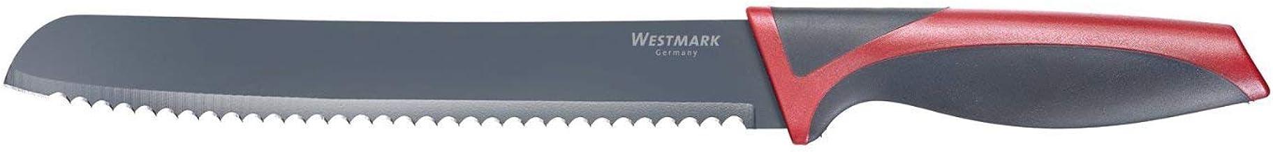 Westmark 4004094145582 Bread Knife, Blade 20 cm, Silver, 4004094145582