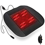 COFIT Heating Car Seat Cushion, 12V Comfortable Seat Pad Heater Perfect for Cold