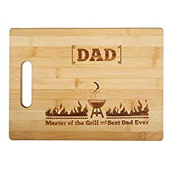 Personalized Father's Day gifts-Bamboo cutting board