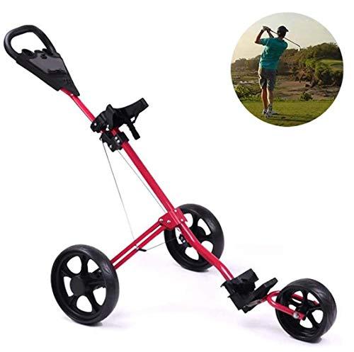 Electrical Shopping Golf Dreirad Tasche Wagen,Bequemer Faltbarer Ballwagen,Wagen,Handanhänger,Golfausrüstung,Zeigen Sie Ihr Elegantes aristokratisches Temperament