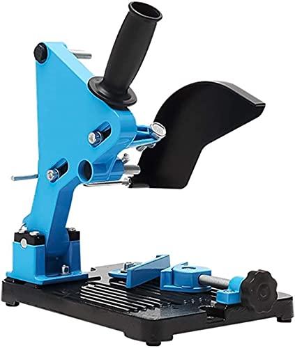 WXking Ángulo Amoladora de ángulo de ángulo Molinillo Soporte para Soporte para 100-125 Ángulo de Corte Grinder Base de Hierro Power Power Tool Accesorio (Color: Rojo) (Color : Blue)