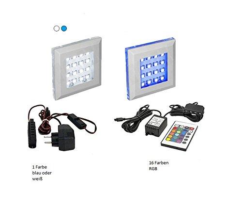 FUTURE 6 Moderne Wohnwand, Exklusive Mediamöbel, TV-Schrank, Neue Garnitur, Große Farbauswahl (RGB LED-Beleuchtung Verfügbar) (Weiß MAT base / Weiß HG front, Blau LED) - 6