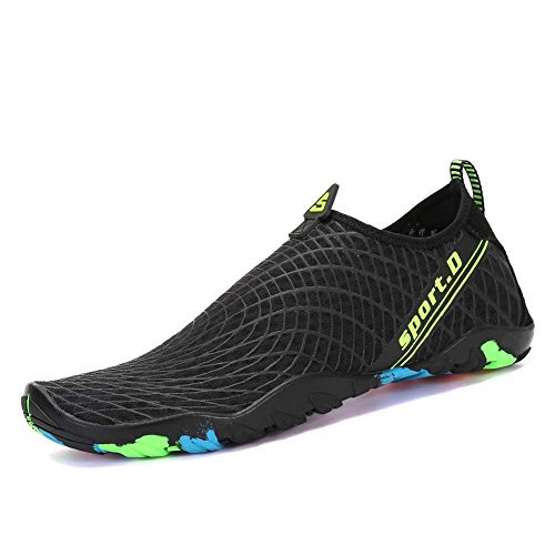 Leyang Women Men Water Shoes Lightweight Quick Dry Non-Slip Barefoot Beach Shoes Multifunction Aqua Socks Pool Swim Surf Yoga