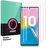 TOCOL 3 Pack Compatible with Samsung Galaxy Note 10 Screen Protector, HD Clarity Flexible TPU Film New Version Touch Sensitive