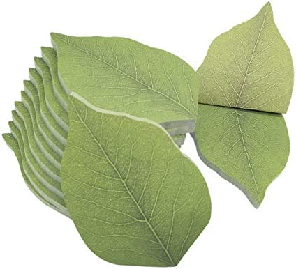 600 Sheets Cute Tree Leaf Sticky Notes Paper Memo Self Adhesive Notes 3 74 x 2 48 12 Pads Pack product image