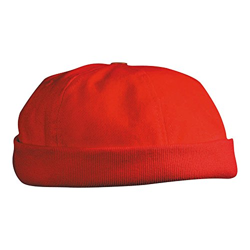 6 Panel Chef Cap/Myrtle Beach (MB 022), red