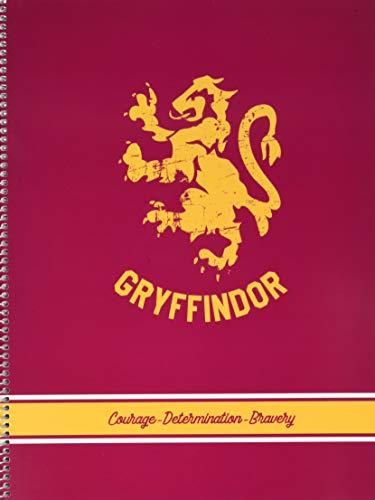 ERIK CTPPMA40006 Quaderno spirale a righe A4 Harry Potter Gryffindor