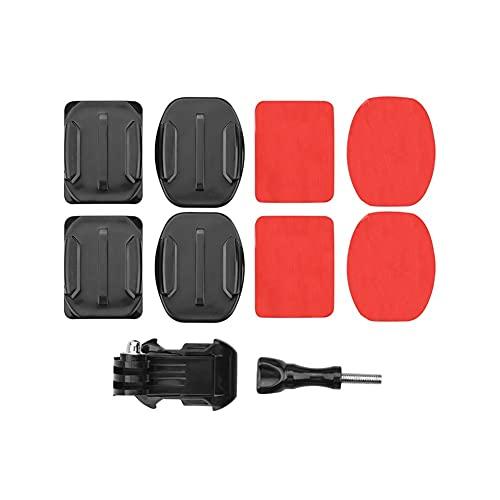 YXYX Accessori droni Supporti Adesivi per GOPRO 9 / per OSMO Azione Azione Sport Fotocamera Curva Appartamento Appartamento Piedi Appiccicosi Taccuini per Casco Bordo Automobile Accessori