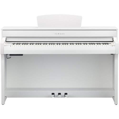 Yamaha CLP-735 WH - Piano digital, color blanco