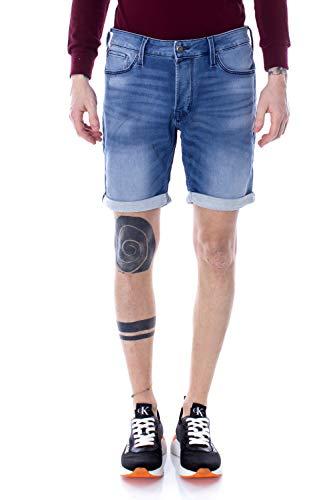 Jack & Jones NOS Herren JJIRICK JJICON GE 851 I.K. STS Shorts, Blau (Blue Denim), 52 (Herstellergröße:L)