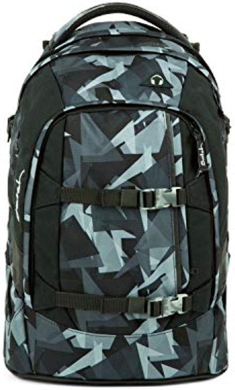 Satch Pack ergonomischer Schulrucksack für Mdchen und Jungen - Gravity grau