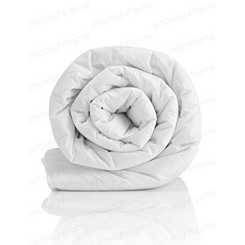 Harwood Textiles Fibra Cava 10,5Tog einzelbettstepp Coperta con Copertura Policotone