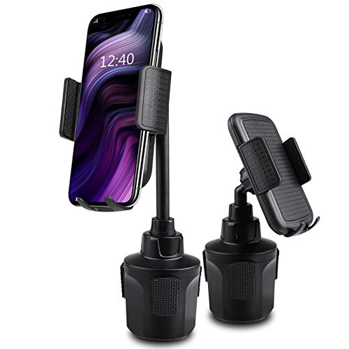 EEEKit Universal Handyhalterung für KFZ Getränkehalter, Auto Handyhalter für KFZ-Getränkehalter Kompatibel mit iPhone XS Max XR X 8 Plus 7 6s 6 Plus, Samsung Galaxy S10 S9 S8 S7 Note und mehr