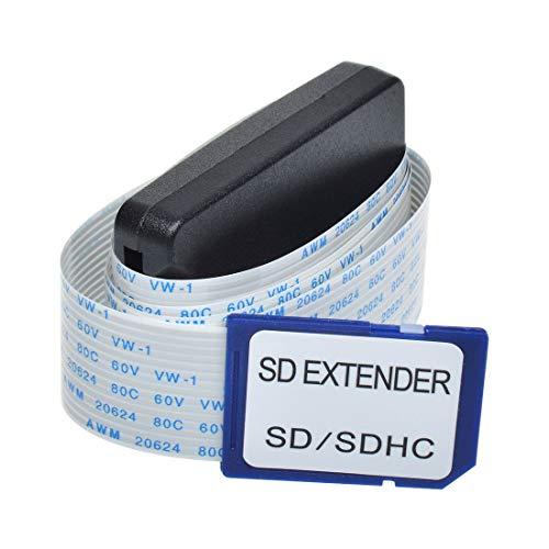 winwill - Cable alargador de Tarjeta SD a Tarjeta SD para SDXC, MacBook, Kindle, Impresora 3D, Raspberry Pi, Arduino GPS TV SDHC SD Micro