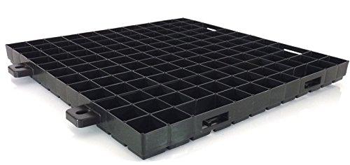 WKH GmbH Paddockplatten - Paddockgitter - Reitplatzgitter - Paddockraster - 500x500x40 mm - 0,25 qm Basic