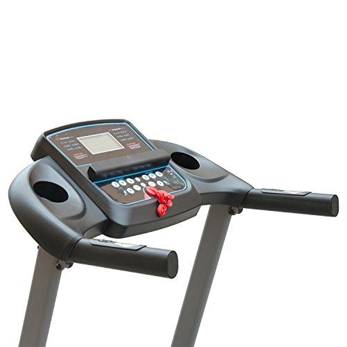HOMCOM Cinta de Correr Electrica Plegable 240V Pantalla LCD MP3 ...