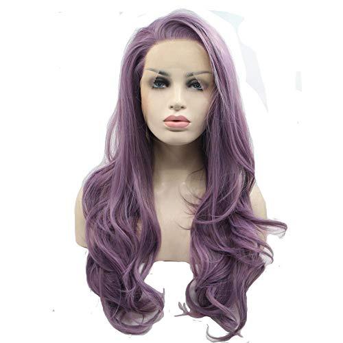 cosplay pruik, lang steil haarkleur, 45cm, natuurlijke realistische pruik, zijde van chemische vezels op hoge temperatuur, pruik gebruikt door vrouwen voor dagelijkse aankleding en feest