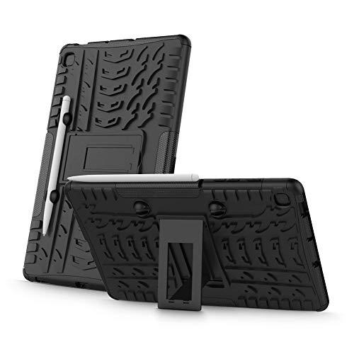 Tech-Protect Armorlok - Carcasa rígida para Samsung Galaxy Tab S6 Lite 10.4 P610/P615, resistente a los golpes, resistente y resistente a los golpes, con soporte
